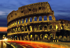 Foto: Europa - THE COLOSSEO AT ROME ITALY