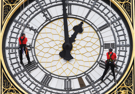 Foto: Londen - Big Ben maintenance