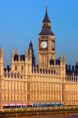 Foto: Londen - Houses of Parliament, London.