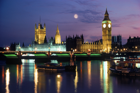 Foto: Londen - houses of parliament, london, great britain