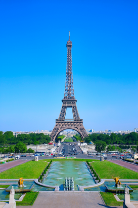 Foto: Parijs - Eiffel Tower