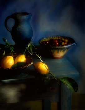 Wine & Food Pictures for Your Kitchen Wall Art as Canvas, Acrylic or Metal Print lemons and olives