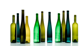 Wine & Food Pictures for Your Kitchen Wall Art as Canvas, Acrylic or Metal Print Weinflaschenpanorama III