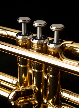 Other pictures Wall Art as Canvas, Acrylic or Metal Print Trumpet close up