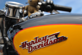 Transportation pictures Wall Art as Canvas, Acrylic or Metal Print Harley-Davidson-Treffen