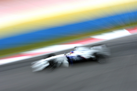 Motorsport pictures Wall Art as Canvas, Acrylic or Metal Print Formel 1 2006 - GP Malaysia - Jacques Villeneuve