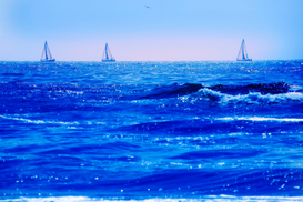 Affiches marine pour les toiles ou images murales sous acrylique par exemple A good day for sailing
