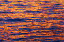 Season pictures Wall Art as Canvas, Acrylic or Metal Print Ocean at Sunset