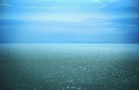 Seascapes Wall Art as Canvas, Acrylic or Metal Print Sea horizon