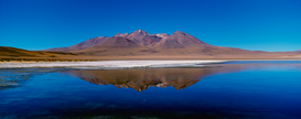 Beach pictures Wall Art as Canvas, Acrylic or Metal Print Laguna Colorada
