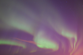 Space pictures Wall Art as Canvas, Acrylic or Metal Print Northern lights, Canada